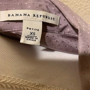 Banana Republic silk blouse